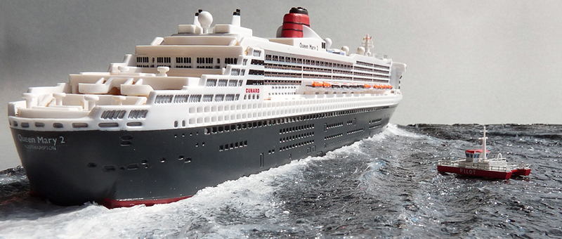 Queen Mary 2 Revell 11200